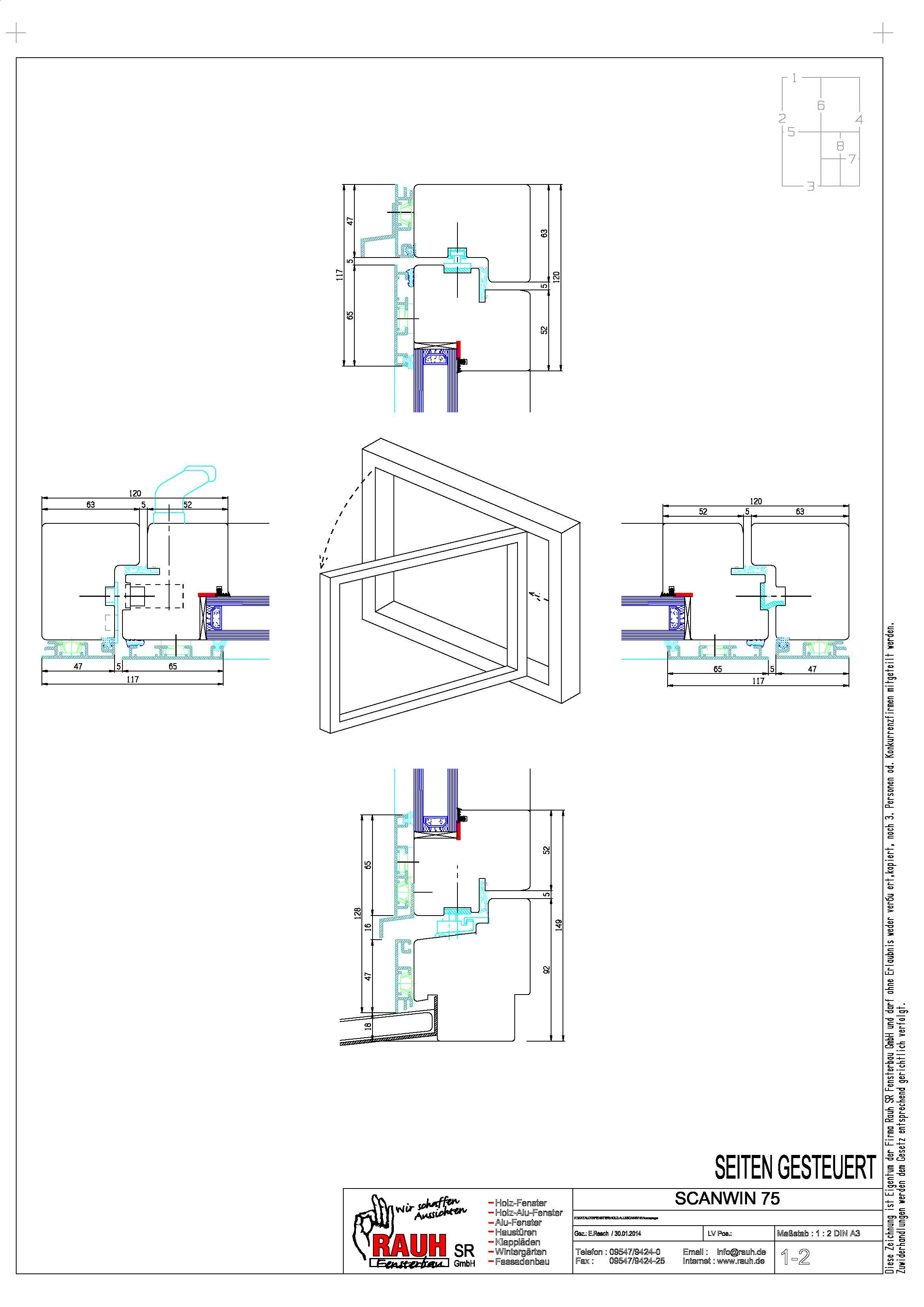 RAUH SR Fensterbau GmbH: Scanwin